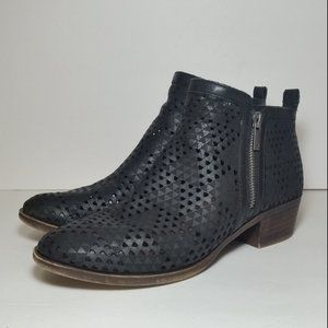 Lucky Brand Basel ankle booties size 8.5 M black